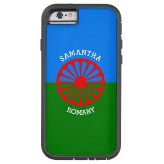 Personalisierte offizielle Romany-Sinti und Tough Xtreme iPhone 6 Hülle