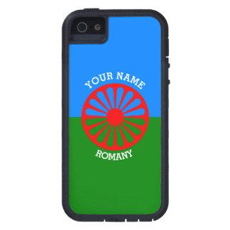 Personalisierte offizielle Romany-Sinti und iPhone 5 Hülle