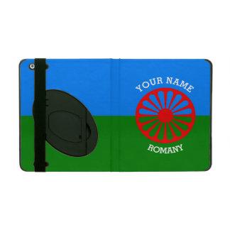 Personalisierte offizielle Romany-Sinti und iPad Etui