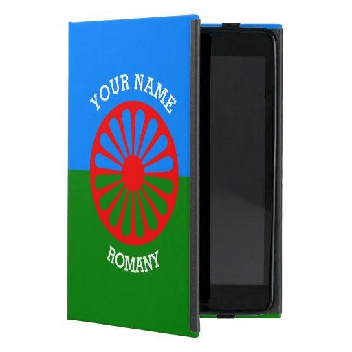 Personalisierte offizielle Romany-Sinti und iPad Mini Etuis