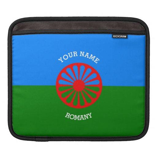 Personalisierte offizielle Romany-Sinti und iPad Sleeve