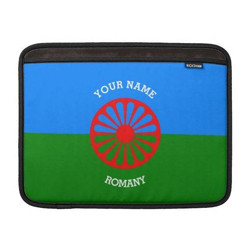 Personalisierte offizielle Romany-Sinti und Sleeve Fürs MacBook Air