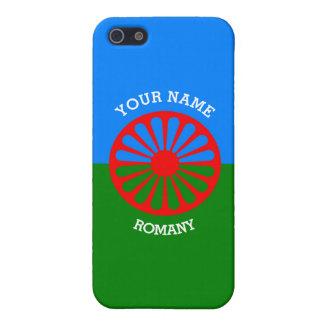 Personalisierte offizielle Romany-Sinti und iPhone 5 Schutzhüllen
