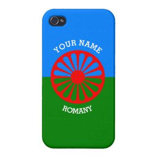Personalisierte offizielle Romany-Sinti und Hülle Fürs iPhone 4