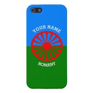 Personalisierte offizielle Romany-Sinti und iPhone 5 Schutzhülle
