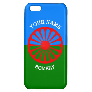 Personalisierte offizielle Romany-Sinti und iPhone 5C Hüllen
