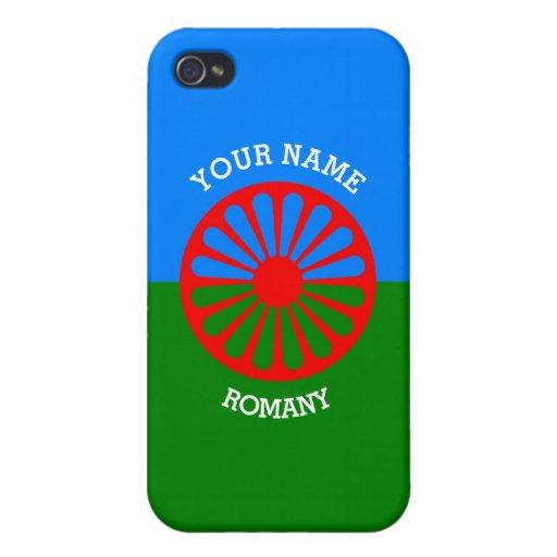 Personalisierte offizielle Romany-Sinti und Etui Fürs iPhone 4