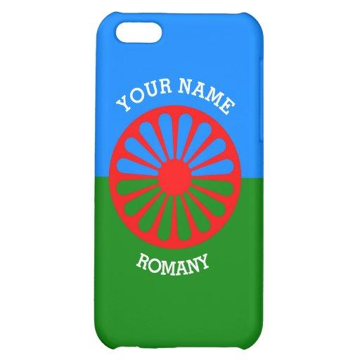 Personalisierte offizielle Romany-Sinti und iPhone 5C Schale