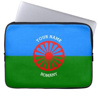 Personalisierte offizielle Romany-Sinti und Laptop Computer Schutzhülle