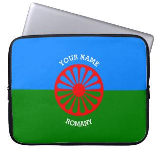 Personalisierte offizielle Romany-Sinti und Laptop Sleeve Schutzhülle