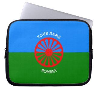 Personalisierte offizielle Romany-Sinti und Computer Schutzhülle