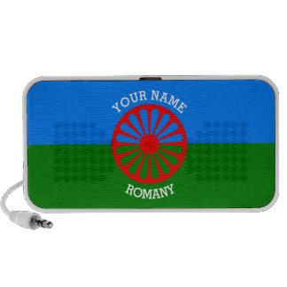 Personalisierte offizielle Romany-Sinti und iPod Speaker