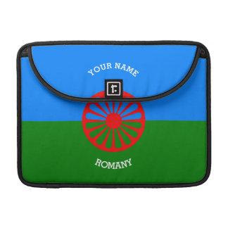 Personalisierte offizielle Romany-Sinti und MacBook Pro Sleeve