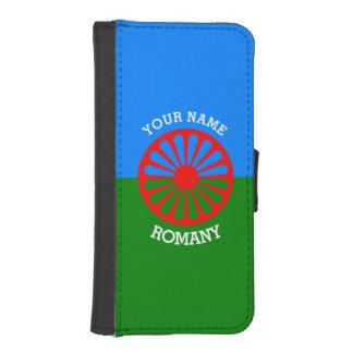 Personalisierte offizielle Romany-Sinti und I Phone 5 Portmonees