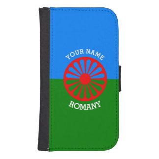 Personalisierte offizielle Romany-Sinti und Galaxy S4 Portmonee