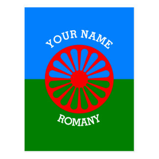 Personalisierte offizielle Romany-Sinti und Postkarten