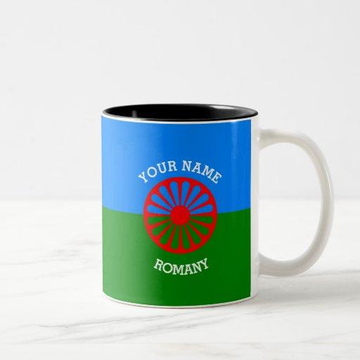 Personalisierte offizielle Romany-Sinti und Kaffeehaferl