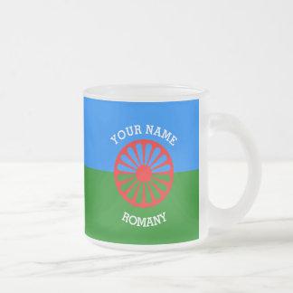 Personalisierte offizielle Romany-Sinti und Kaffee Tasse
