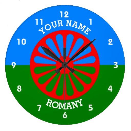 Personalisierte offizielle Romany-Sinti und Uhr