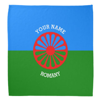 Personalisierte offizielle Romany-Sinti und Kopftücher