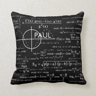 Personalisierte Physik-Geschenke für Physiker Kissen