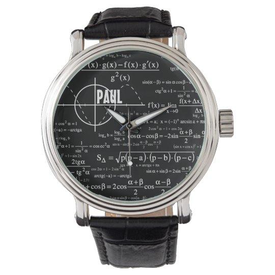Personalisierte Physik Geschenke Fur Physiker Uhr Zazzle De