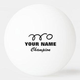 Personalisierte Ping pong Bälle für Tischtennis Ball