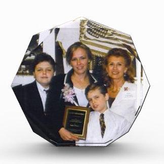 Personalisierte Preis-Papiergewicht Acryl Auszeichnung