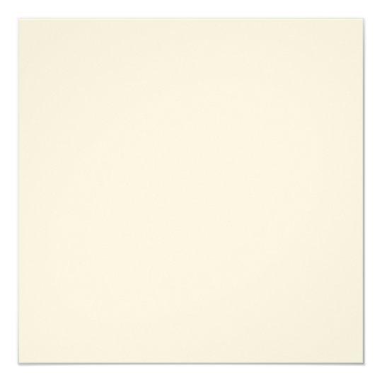 Ecru-Filz 13,3 cm x 13,3 cm, weiße Briefumschläge inklusive