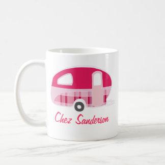 Personalisierte Retro Wohnwagen-Inhaber-Tassen Kaffeetasse