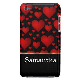 Personalisierte rote Herzcollage iPod Case-Mate Case