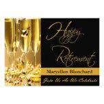 Personalisierte Ruhestands-Party Einladung