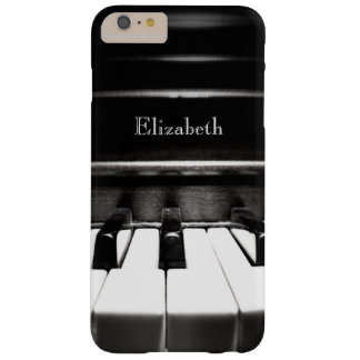 Personalisierte schwarze Klavier iPhone 6 Plusfall Barely There iPhone 6 Plus Hülle