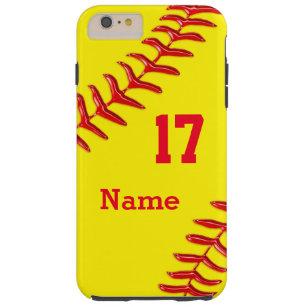 Personalisierte Softball iPhone 6 Plusfall Tough iPhone 6 Plus Hülle