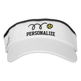 Personalisierte Sonnemaskenkappe für Visor