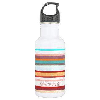 Personalisierte Streifen Trinkflasche