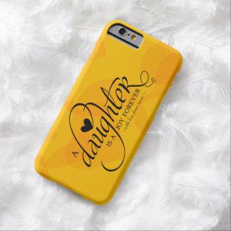 Personalisierte süße Geschenke für Tochter Barely There iPhone 6 Hülle