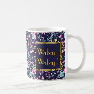 Personalisierte Tasse der Wakey