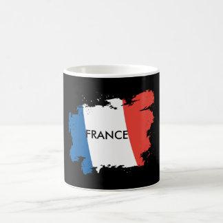 Personalisierte Tasse Frankreich-Flagge