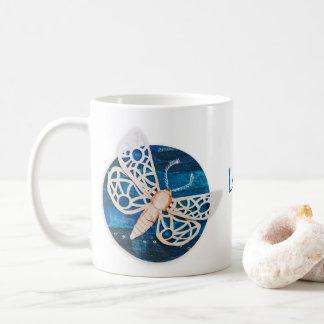 Personalisierte Tasse mit Nachtmotten