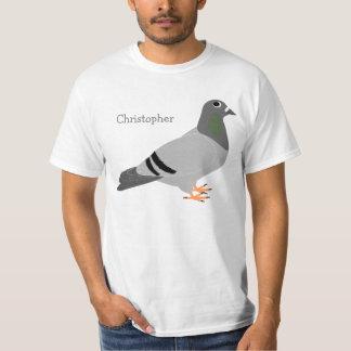 Personalisierte Taube T-Shirt