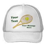 Personalisierte Tennis-Hüte für Männer und Frauen Retrokultmützen