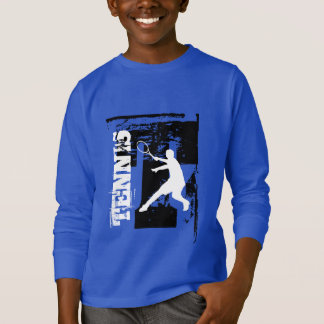 tennis personalisiert t shirts zazzle. Black Bedroom Furniture Sets. Home Design Ideas