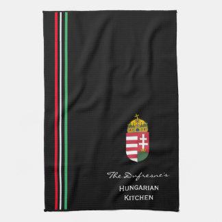 Personalisierte ungarische Küche w/Coat der Arme Küchentuch
