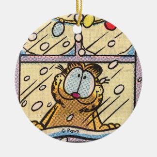 PERSONALISIERTE Verzierung Garfield-Weihnachtsaben Weihnachtsbaum Ornament