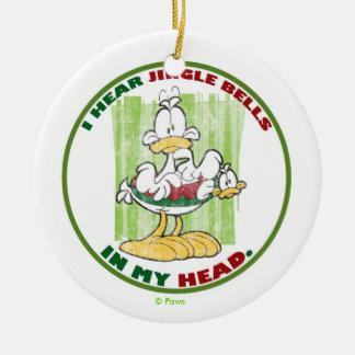 PERSONALISIERTE Verzierung U S Acres Klingel-Bell Weihnachtsornament