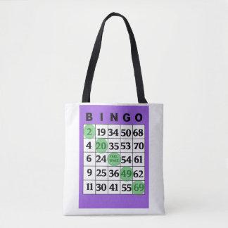 """Personalisierte """"viel Glück"""" BINGO Tasche"""