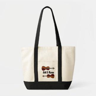 Personalisierte Viola-Musik-Taschen-Tasche Tragetasche