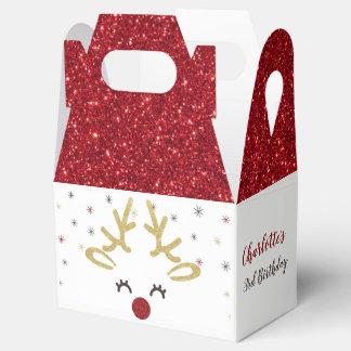 Personalisierte Weihnachtsbevorzugungs-Kästen Geschenkschachtel