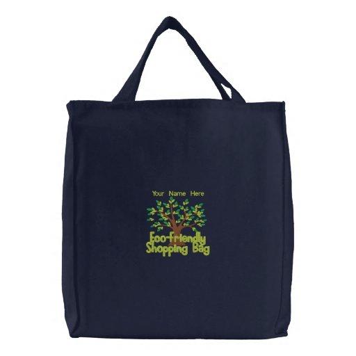 Personalisierte wiederverwendbare Einkaufstasche, Leinentaschen